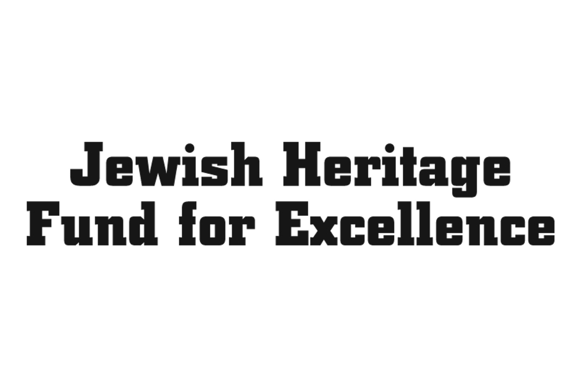 Jewish Heritage Fund for Excellence